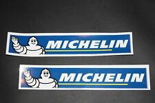 MICHELIN SCHRIFTZUG BIBENDUM 2 Stück MOTO GP RACE L 3,5