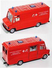 SIKU SUPER 2011 00100 Mercedes-Benz 809 D Ambulance Sapeurs Pompier