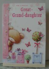 GREAT GRAND-DAUGHTER  CARD