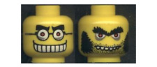 Lego Head Dual Sided Mad Scientist Glasses