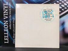 "JANET JACKSON LOVE WILL NEVER DO 12"" LTD ED EP AMY700 pop années 90 + Badge + Autocollant"