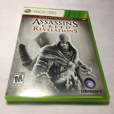 Assassin's Creed Revelations Microsoft Xbox 360 Complete Manual Free Shipping