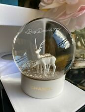 ‼️SUPER SALE ❄️🦌 Brand New CHANEL With White Deer Snow Globe VIP GIFT🦌❄️