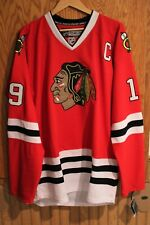 JONATHAN TOEWS Chicago Blackhawks Official Game Jersey by Reebok size 54