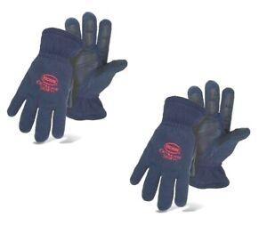 (2) Boss Men's Winter Insulation Outdoor Gloves Large ~ New