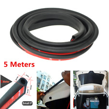Universal 5M Small P Type Car Door Edge Seal Strip Noise Insulation Weatherstrip