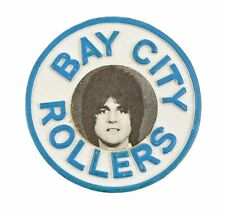 More details for vintage 1970's bay city rollers music band 'eric faulkner' plastic badge