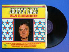 Johnny Cash - Ballad Of A Teenage Queen, Hallmark SHM-862 Ex Condition A1/B1 LP