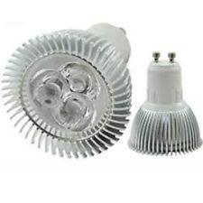 10 x LAMPADA FARETTO GU10 SPOT LUCE FREDDA 3W POWER LED EPISTAR 3X1 300 LUMEN
