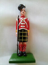 William Grant Figurine soldat écossais Scottish soldier Britain kilt tartan