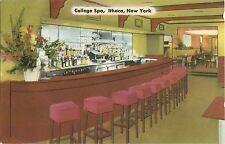 A Closeup View of the Bar at the College Spa, 216 East State Street, Ithaca NY