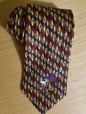 Peanuts Charlie Brown Snoopy Silk Made in USA Novelty Tie Necktie
