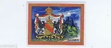 T-107 Seals of the U.S. and Coats of Arms. #8 Baden, Helmar Cigarettes, 1910