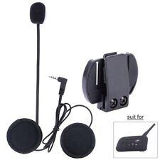 e0ceb0b3e32 V6 V4 Motorcycle Helmet Headset Speaker Mic Bluetooth Handsfree Music Call+  Clip