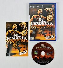 Def Jam Vendetta (PS2), Good Condition Playstation 2 Video Game + Manual