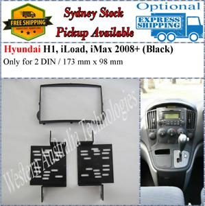 Fascia facia Fits Hyundai iLoad 2007+ H1 iMax Double Two 2 DIN Dash Kit