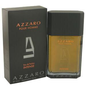 Azzaro Pour Homme Intense Fragrance 3.4oz Eau De Parfum MSRP $94 NIB