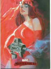 Marvel Masterpieces 2007 Base Card #28 Elektra