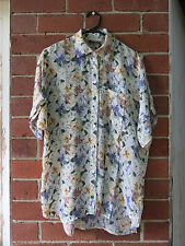 Polyester Floral Casual Shirts for Men