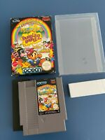 Rainbow Islands - Bubble Bobble 2 - NES NINTENDO boxed Game. RARE!