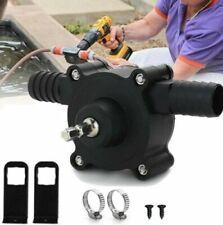Hand Electric Drill Drive Self Priming Pump Oil Fluid Water Transfer Mini Pumps