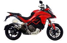 PER Ducati Multistrada 1200 2015 15 MARMITTA TERMINALE DI SCARICO LEOVINCE IN AC