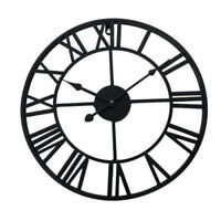 30-60CM LARGE TRADITIONAL VINTAGE STYLE WALL CLOCK ROMAN NUMERAL HOME DECO