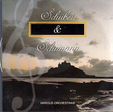 SCHUBERT & SCHUMANN Various Orchestras CD - New