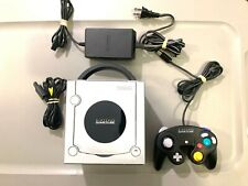 Platinum Silver Nintendo GameCube System Console w/ 1 Controller & All Cables