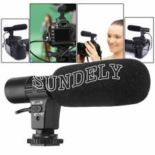 Camcorder Microphone Mic Digital Video DV Camera Studio Stereo 3.5mm Recording