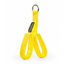 SPUD INC Fat Triceps Straps YELLOW // Cable Attachment Row Pulldown Rope Bar Gym