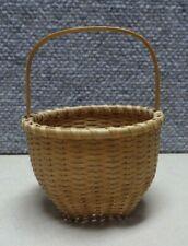 Vintage Miniature Splint Basket   JS