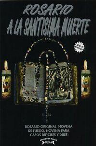 Libro Rosario a la Santisima Muerte - Santa Muerte