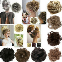 2019 Women Easy-To-Wear Stylish Hair Scrunchies Elastic Color Curly Hair Band