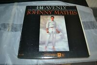 JOHNNY MATHIS     HEAVENLY    LP    COLUMBIA  CL 1351   FIRST PRESSING