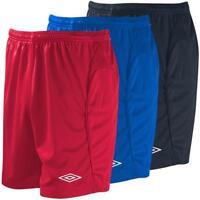 Umbro Men's Premier Football Shorts Soccer Kit TeamTraining Gym Sport Casual