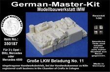 350187,Ladegut, 1:35, Große LKW Beladung No. 11, Resin, GMKT World of War II