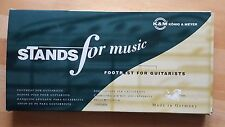 K&M König & Meyer Fussbank für Gitarristen - Stands for music 14670-000-55