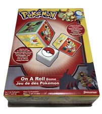 New Open Box Pokémon On a Roll Dice Game, 1-4 Player Ages 7+, Pokémon Dice Game
