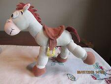 Toy Story   BULLSEYE horse    Disney Pixar PARK POSEABLE Bendable legs saddle