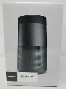 BOSE SOUNDLINK REVOLVE PORTABLE TRUE 360 SOUND BLACK 120V SPEAKER BRAND NEW