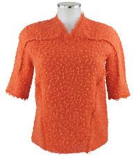 Bottega Veneta Pull 36 38 (D) orange lin Laine Jumper