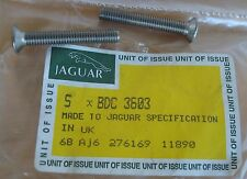 2 NEW JAGUAR XJS 92 93 94 95 96 DOOR MIRROR SECURING SCREWS BDC3603