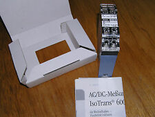 NEW - Knick 647-2 A2 IsoTrans AC/DC Transducer 0-120Vac to 0-20mA / 0-10Vdc