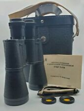 New ! Russian Binoculars 12 x 45m With Strap Case Document Nice Conditions