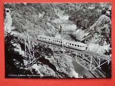 LOCARNO DOMODOSSOLA SEMPIONE ferrovia TRENO elettrotreno vecchia cartolina