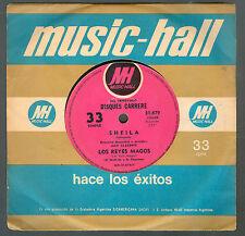 """SHEILA 7""""  LOS REYES MAGOS / UNA MUJER  ARGENTINA SINGLE"""