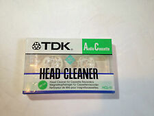 Audiocassetta Pulisci Testine Head Cleaner TDK