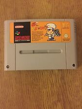 Platformer Nintendo SNES Rating 3+ Video Games with Manual