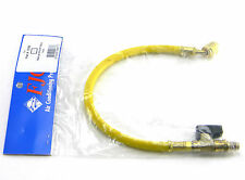 """NEW FJC 6088 12"""" HOSE WITH MANUAL SHUT OFF VALVE YELLOW"""
